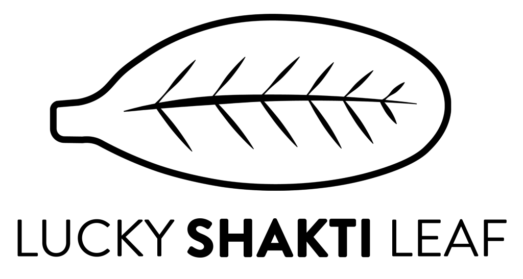 Lucky Shakti Leaf Logo