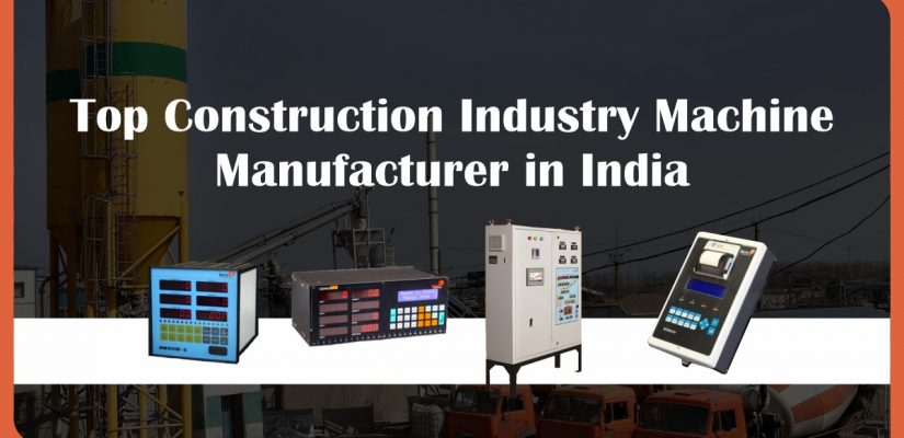 top construction equipment machinery manufacturers in india